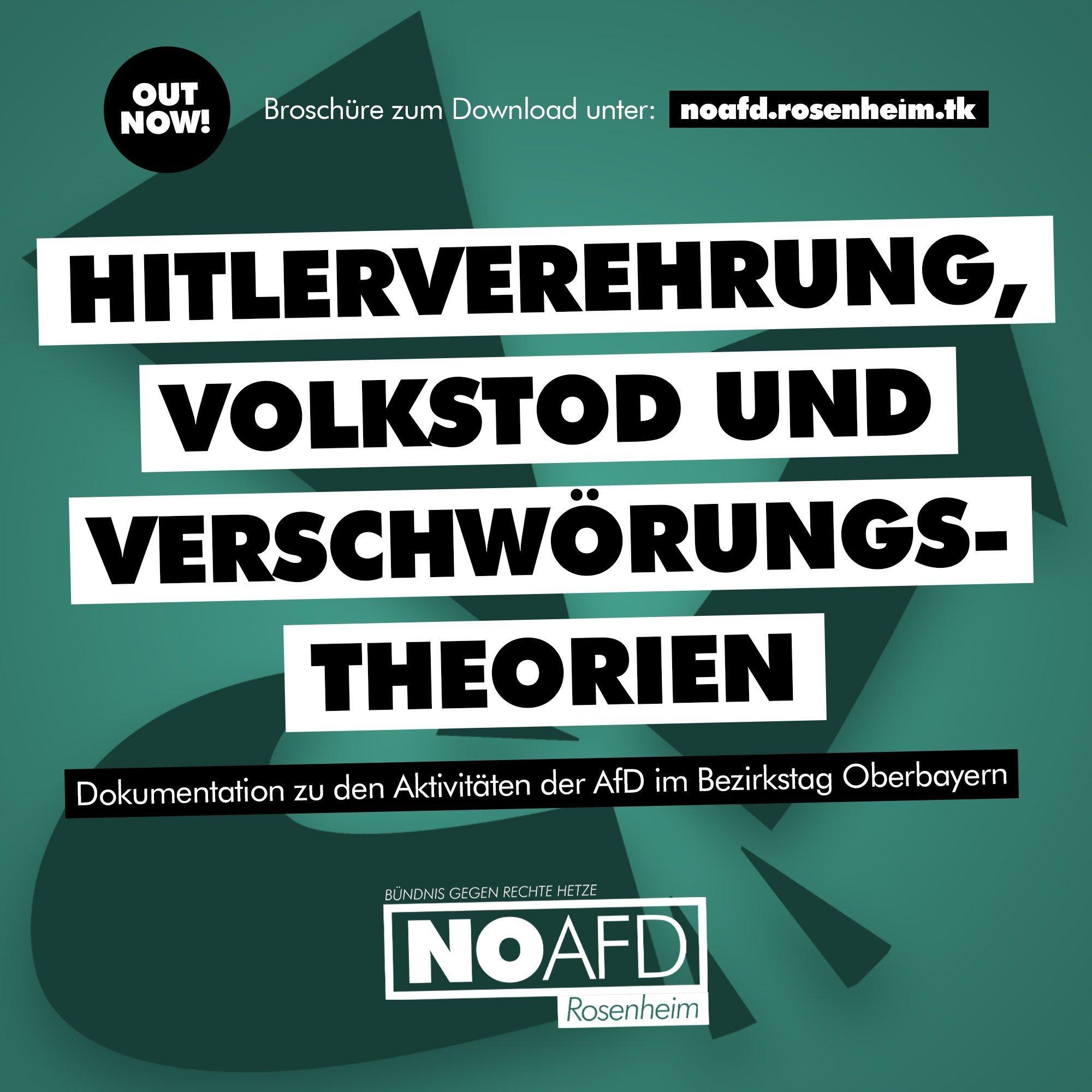 Broschüre zur AfD im Bezirkstag Oberbayern veröffentlicht